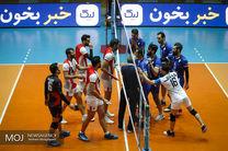 دیدار تیم های والیبال پیکان تهران و شهرداری ارومیه