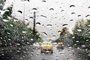 محورهای ۴ استان کشور بارانی است