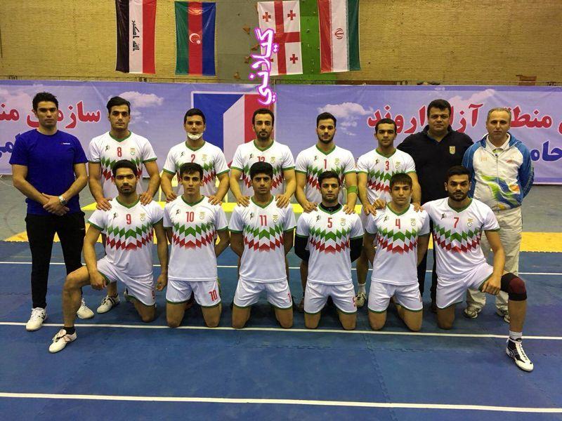ایران قهرمان دومین دوره مسابقات بین المللی کبدی جام فجر شد