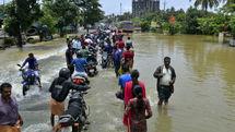 monsoon floods in India left 184 dead