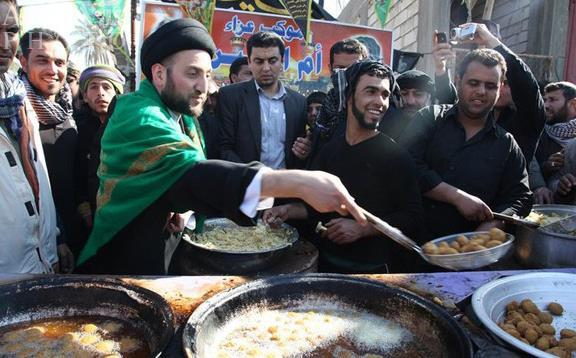 استقرار موکب علی اصغر (ع) اوقاف اصفهان در مرز چزابه