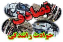 6 کشته و مجروح در تصادف کامیون با پراید