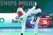 کیمیا علیزاده به مدال نقره جهان دست یافت/ تک مدال بانوان ایران در مسابقات جهانی