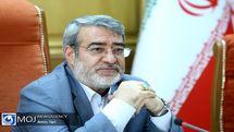 رحمانی فضلی وارد استان قزوین شد