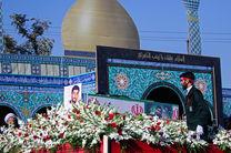 پیکر شهید حججی در خانه ابدیاش آرام گرفت