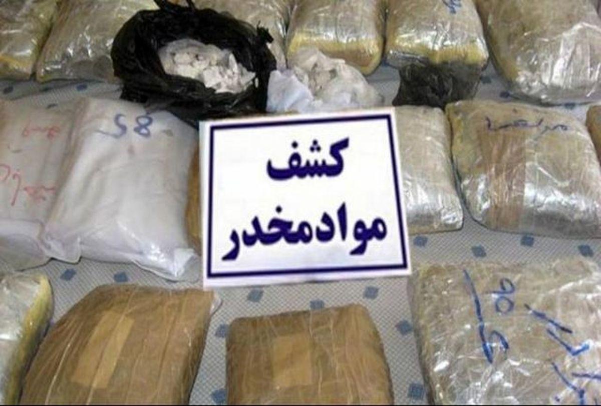 300 کیلوگرم مواد مخدر در قشم کشف شد