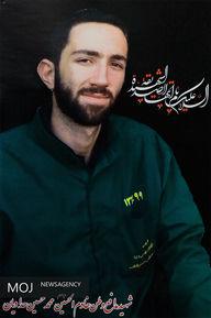 حضور مقام معظم رهبری در منزل شهید محمدحسین حدادیان