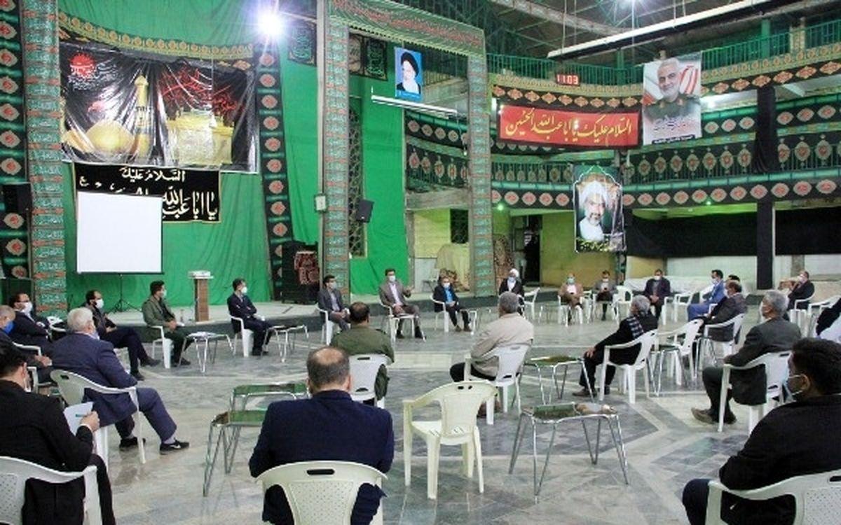 محله محوری در مقابله با کرونا مورد تاکید رهبر؛ شاهدیه دهمین قرارگاه محله ای در یزد