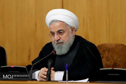 جلسه هیات دولت - ۲۱ شهریور ۱۳۹۷/حسن روحانی رییس جمهوری