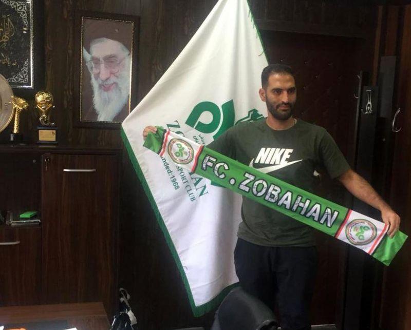 پیوستن مهرداد قنبری به تیم فوتبال ذوبآهن