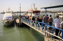 مسافرت های دریایی در نوروز امسال با 41 فروند شناور انجام می شود/امکان تهیه بلیت الکترونیک برای مسافران فراهم است