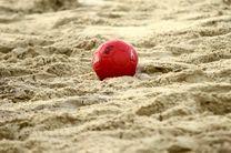 نتایج روز نخست رقابتهای هندبال ساحلی قهرمانی آسیا