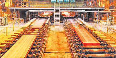 نخستین کارخانه از هفت طرح فولاد استانی، به تولید رسید