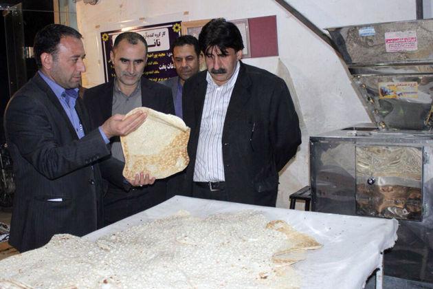 روزانه 70 هزار قرص نان از استان لرستان به کرمانشاه ارسال میشود