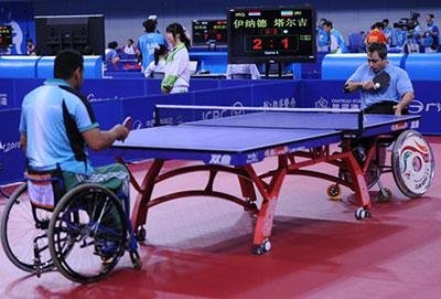 تیم تنیس روی میز جانبازان و معلولین عازم چین میشود
