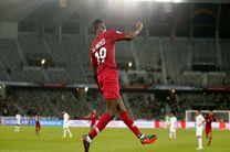 برتری قطر برابر ژاپن در نیمه نخست