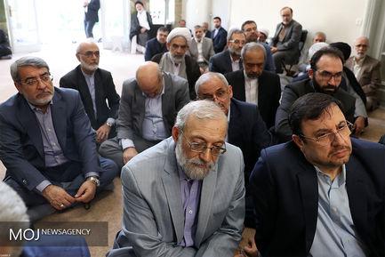 دیدار جمعی از مسئولان ارشد نظام با مقام معظم رهبری