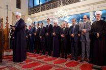 بشار اسد در مراسم جشن میلاد رسول اکرم (ص) در دمشق حضور یافت