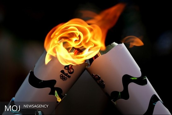 پیرزن ۱۰۶ ساله، پیرترین حملکننده مشعل تاریخ المپیک + تصویر