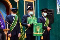 حضور خادمان حرم حضرت معصومه(س) در سه استان کشور