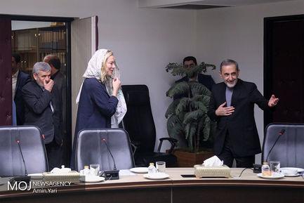 دیدار وزیر امور خارجه هلند با علی اکبر ولایتی