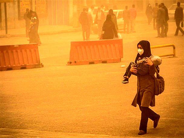 خوزستان ، بحران ریزگردها و سرگردانی مسئولان ؛ چالش ها و راهکارها