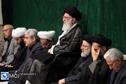عزاداری اربعین حسینی (ع) با حضور مقام معظم رهبری