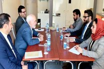 دیدار مشاور امنیت ملی افغانستان با ظریف