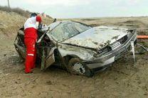 بهرهگیری از تجهیزات نجات پیشرفته باعث نجات مصدوم از داخل خودروی واژگون شده شد