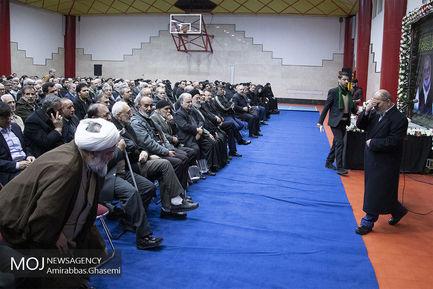 تشییع پیکر محمد مهر آیین