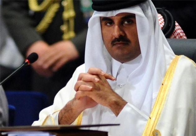 امیر قطر تا زمانی که کشور در محاصره است، به آمریکا نخواهد رفت