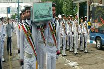 تشییع پیکر پاک ۹ زائر بارانی در گیلان