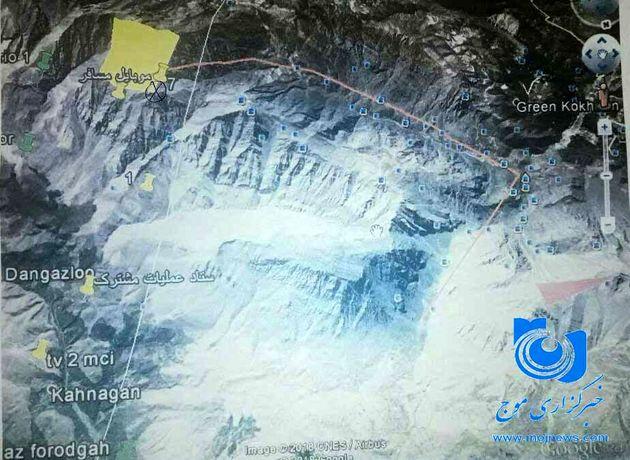 جزئیات جغرافیایی لاشه هواپیمای مسافربری تهران به یاسوج