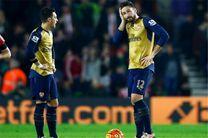 اوزیل و ژیرو احتمالاً به هفته اول لیگ برتر نمیرسند