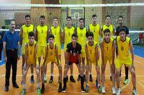 سنندج بر سکوی نخست رقابت های والیبال قهرمانی کردستان ایستاد
