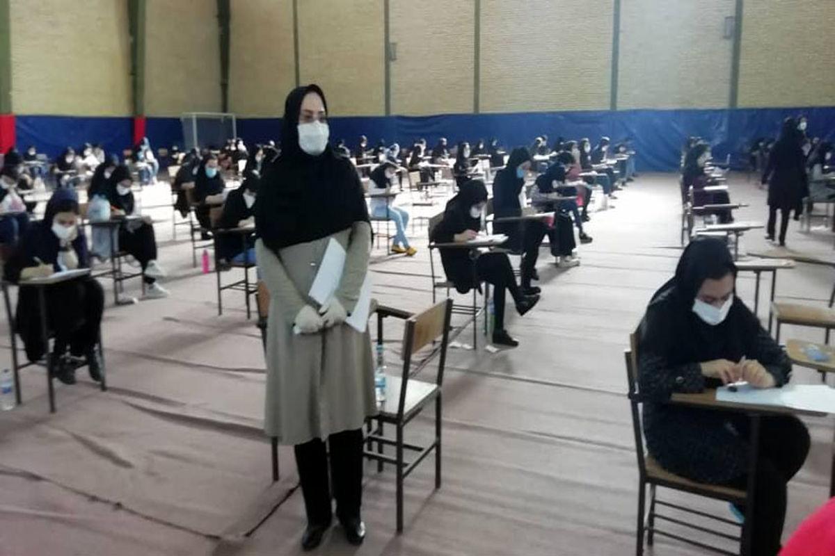 رقابت  ۳۷ هزار و ۶۴۹  داوطلب کنکور در خراسان رضوی