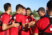 گزارش تمرین ملی پوشان فوتبال+ عکس