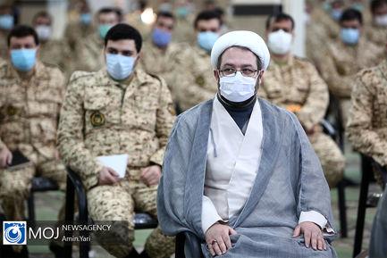 افتتاح چهاردهمین رزم مقدماتی نخبگان وظیفه کشوری