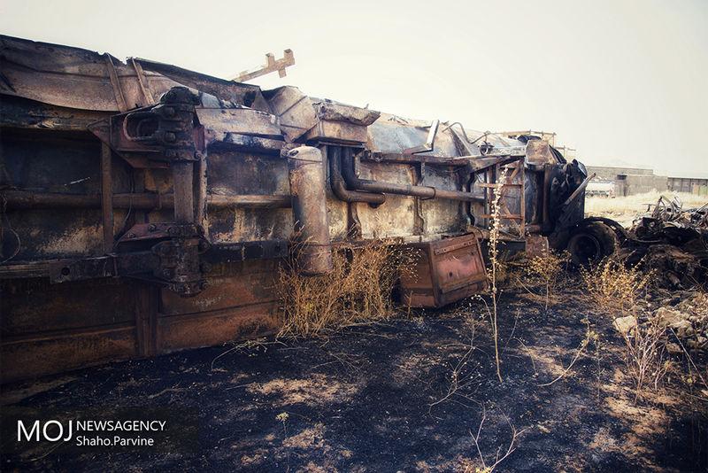 تایید کشته شدن 19 فرد در حادثه برخورد اتوبوس و تانکر سوخت