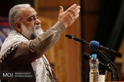 سردار محمدرضا نقدی معاون فرهنگی اجتماعی سپاه پاسداران