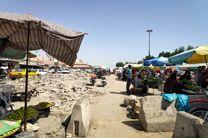 نرمش های فرماندار بندرعباس و راضی نشدن دستفروشان بازار ماهی