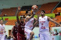 همگروهی ایران با اردن، هند و سوریه در بسکتبال کاپ آسیا