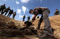 کشف یک گور جمعی در شمال بغداد