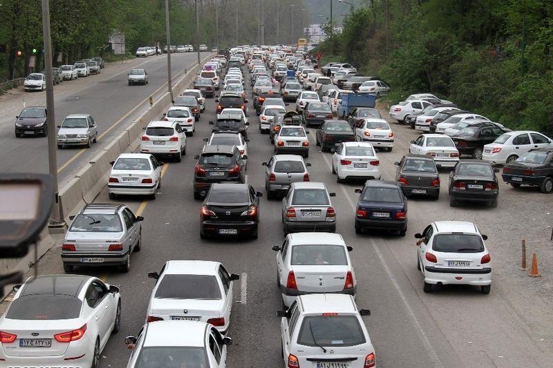 آخرین وضعیت جوی و ترافیکی جاده ها در 12 در 97
