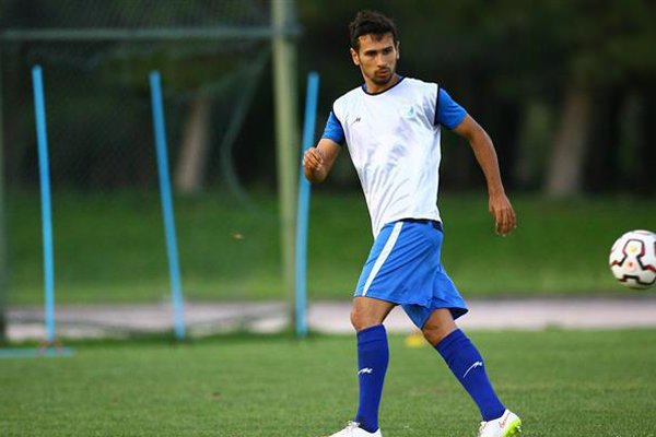 سجاد شهباززاده در تمرین استقلال شرکت کرد