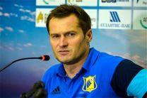 کریچنکو: مشکل اصلی ما کمبود بازیکن است