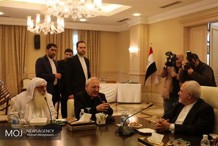 دیدارهای صبح امروز ظریف در بغداد