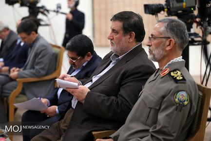 جلسه ویژه بررسی آخرین وضعیت مناطق سیلزده با حضور مقام معظم رهبری