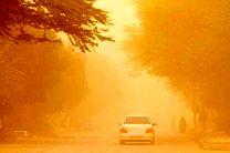 گرد و غبار در برخی مناطق کشور