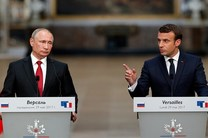 واکنش پوتین به ادعای دخالت روسیه در انتخابات فرانسه